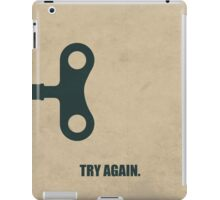 Try Again Corporate Start-up Quotes iPad Case/Skin