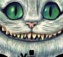 basschashire cat Sticker