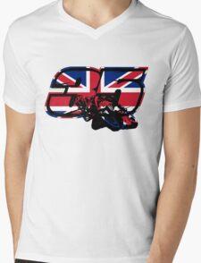 Go Cal Crutchlow in MotoGp Mens V-Neck T-Shirt