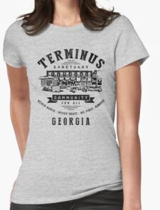 Terminus Sanctuary Community (dark) Womens Fitted T-Shirt