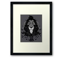 Scar Ink Framed Print