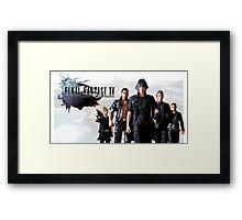 Final Fantasy XV Framed Print