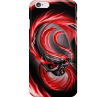 Electrified Mysticism - red iPhone Case/Skin