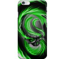 Electrified Mysticism - green iPhone Case/Skin