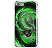 Electrified Mysticism - green iPhone Case/Skin
