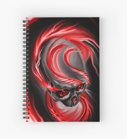 Electrified Mysticism - red Spiral Notebook