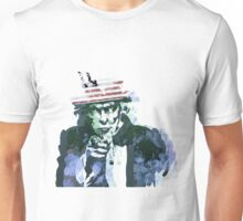 Uncle Sam with Changable background color Unisex T-Shirt