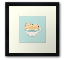 loosen up a little! Framed Print