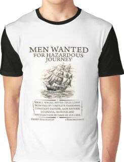 Men Wanted Graphic T-Shirt