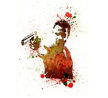 Rick Grimes Walking Dead with Colt Photographic Print