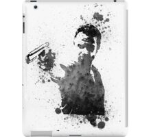 Rick Grimes Walking Dead Black & White iPad Case/Skin