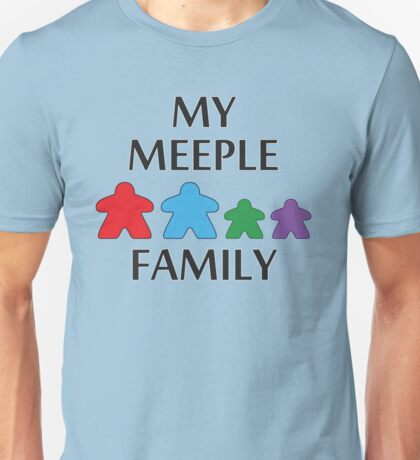 My Meeple Family Unisex T-Shirt