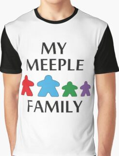 My Meeple Family Graphic T-Shirt