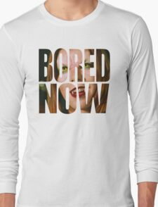 Bored now - Vampire Willow Long Sleeve T-Shirt