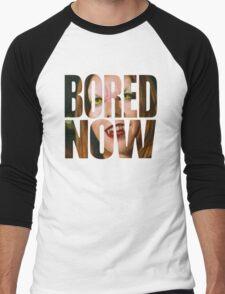 Bored now - Vampire Willow Men's Baseball ¾ T-Shirt