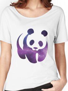 Galaxy WWF Panda Women's Relaxed Fit T-Shirt
