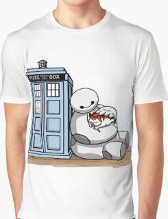 baymax police box tardis Graphic T-Shirt