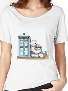 baymax police box tardis Women's Relaxed Fit T-Shirt