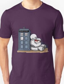 baymax police box tardis T-Shirt