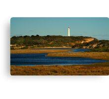 Split Point Lighthouse, Great Ocean Road. Canvas Print