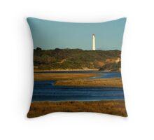 Split Point Lighthouse, Great Ocean Road. Throw Pillow