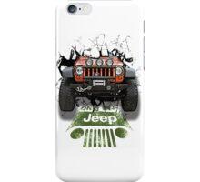 Jeep Breaking Wall 3D Art iPhone Case/Skin