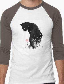 spot cat Men's Baseball ¾ T-Shirt