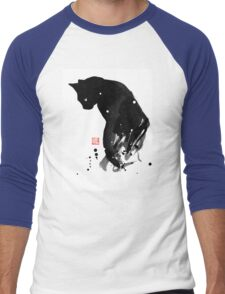 spot cat Men's Baseball ¾ T-Shirt