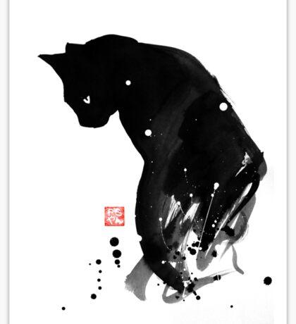 spot cat Sticker