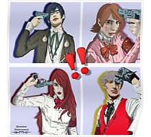 Persona 3 All Out Attack Poster