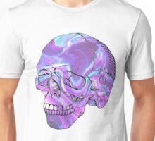 holographic skull Unisex T-Shirt