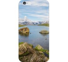 Mountain Matterhorn landscape, Switzerland iPhone Case/Skin