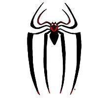 Ultimate Spider-man logo Photographic Print