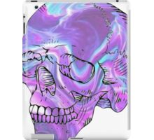 holographic skull iPad Case/Skin
