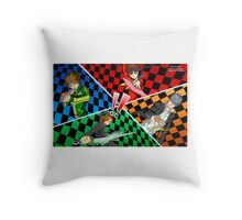 Persona 4 All Out Attack Illustration Throw Pillow