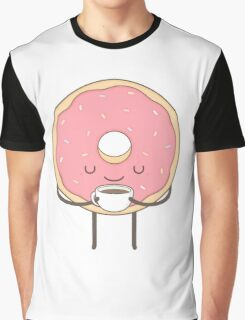 donut loves coffee Graphic T-Shirt