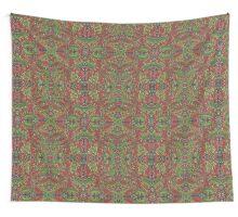 Oak leaves - Tataro pattern Wall Tapestry
