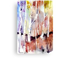 Gum forest on 84 Canvas Print