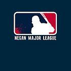 Negan Major League by doctormonekers