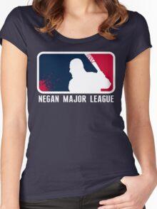 Negan Major League Women's Fitted Scoop T-Shirt