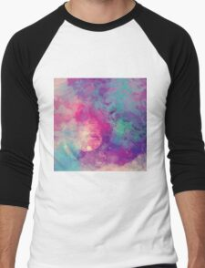 Abstract 01 Men's Baseball ¾ T-Shirt