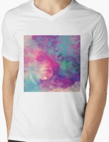 Abstract 01 Mens V-Neck T-Shirt