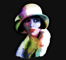 Girl's Twenties Vintage Glamour Art Portrait Unisex T-Shirt