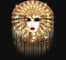 Golden Mask Venice Carnival Unisex T-Shirt