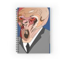 the silence doctor who Spiral Notebook