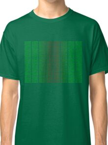 Binary Green and Red With Spaces Classic T-Shirt