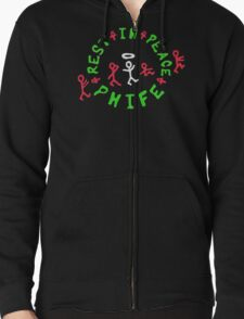 Rip A Tribe Called Quest Zipped Hoodie