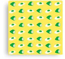green eggs & ham Canvas Print
