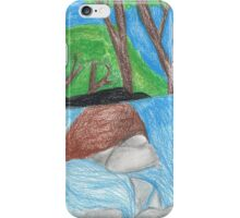 waterfall iPhone Case/Skin