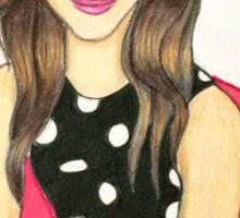 Polkadot Girl  Sticker